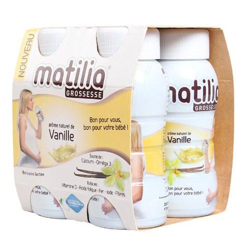 Sữa bầu pha sẵn Matilia tiện lợi và giàu dinh dưỡng