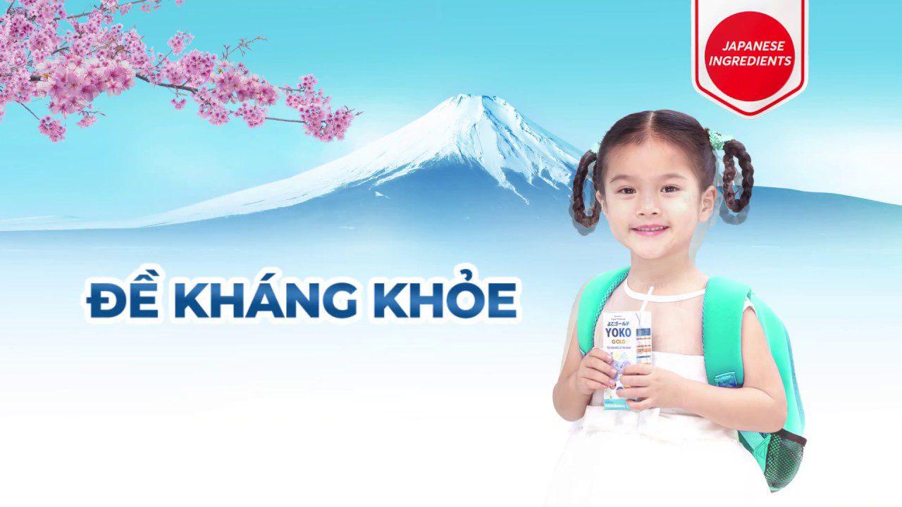 Sữa Yoko Gold Vinamilk với nhiều công dụng