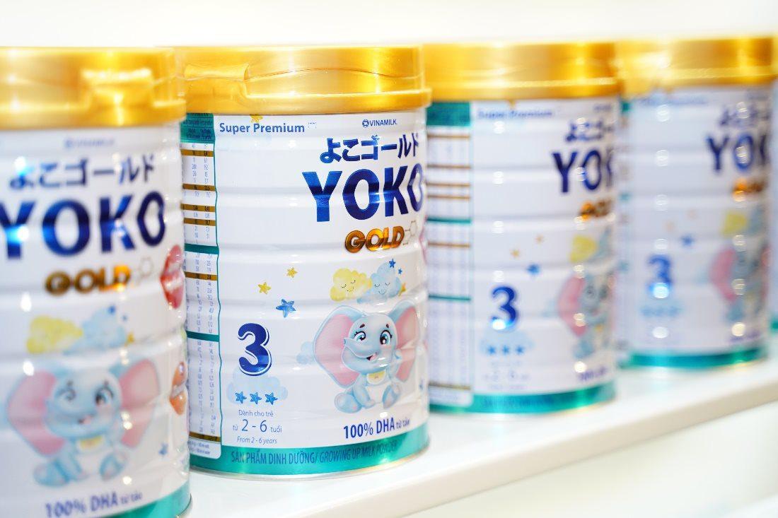 Không khó để tìm mua sữa bột Yoko Gold