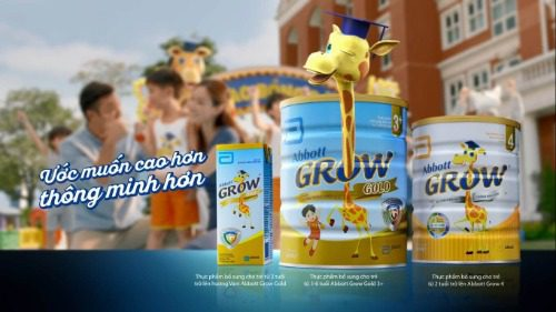 Sữa tăng chiều cao Abbott Grow 4