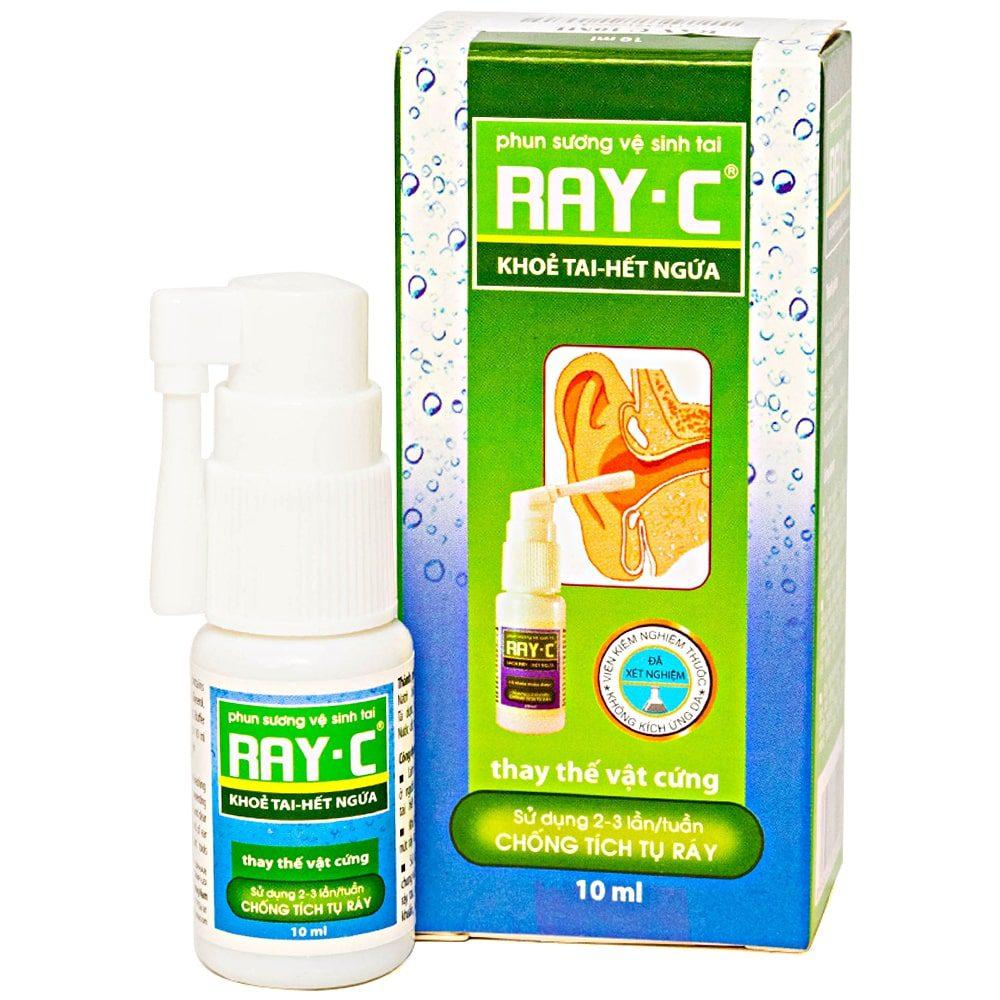 Thuốc nhỏ lấy ráy tai Ray C