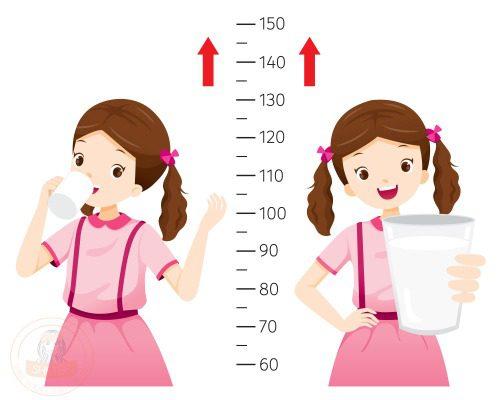 Chọn đúng loại sữa giúp bé phát triển chiều cao