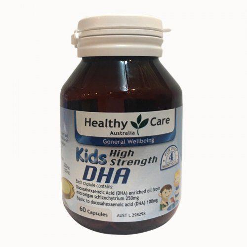 DHA Úc cho bé Healthy Care