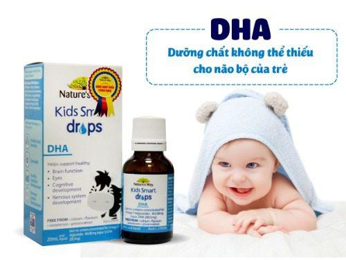 DHA drop Kids smart của Nature's way