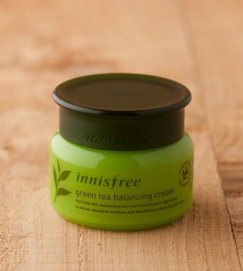 Kem Innisfree Green Tea Balancing Cream
