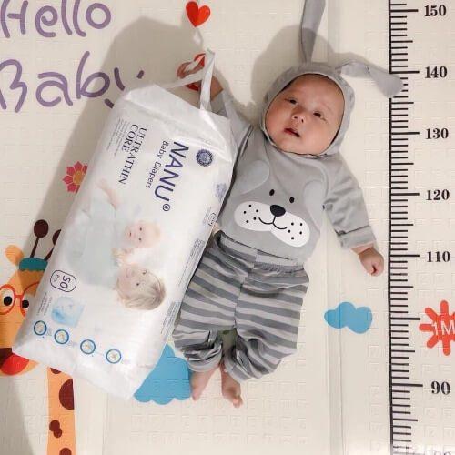 Bỉm Nanu baby mang lại cho bé sự thoải mái