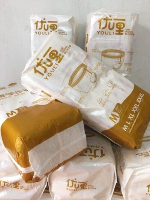 Bỉm Youli vàng Gold