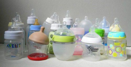 Bình sữa cho trẻ sơ sinh có nhiều mức giá khác nhau