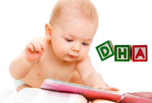 Bổ sung DHA giúp hỗ trợ bé phát triển toàn diện