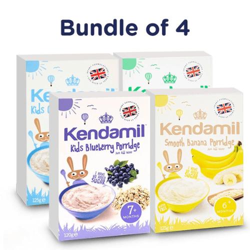 Bột ăn dặm thương hiệu Kendamil phù hợp cho bé từ 4 tháng tuổi trở lên với nhiều hương vị trái cây tự nhiên đặc biệt hấp dẫn, thơm ngon