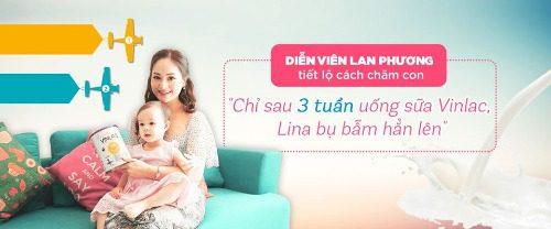 Đánh giá từ diễn viên Lan Phương khi dùng Vinlac 1