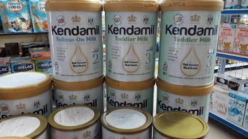 Mua sữa Kendamil Anh quốc trên các trang thương mại điện tử với nhiều ưu đãi hấp dẫn