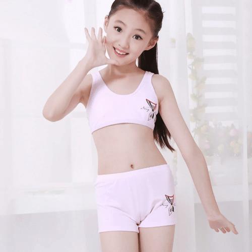 Quần áo lót cho bé gái tuổi dậy thì nhận được nhiều sự quan tâm từ phụ huynh