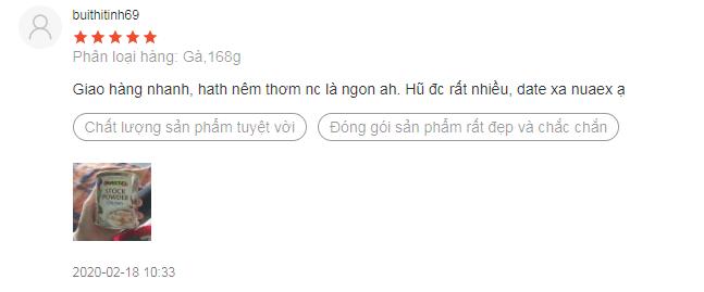 Review từ một số người dùng
