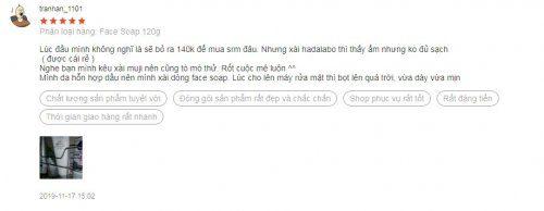 Một số phản hồi của người dùng khi sử dụng sữa rửa mặt Muji