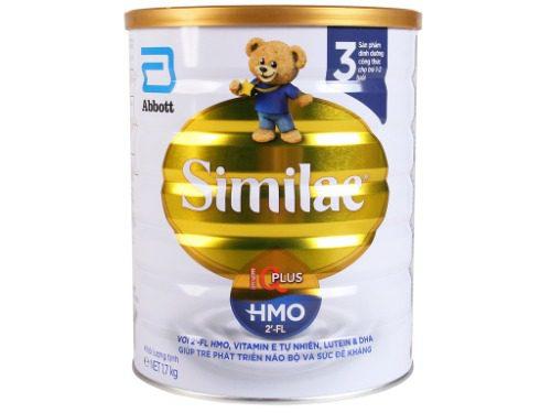 Sữa Similac cho trẻ trên 1 tuổi