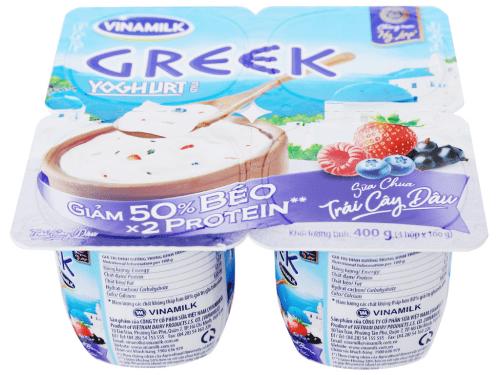 Sữa chua kiểu Hy Lạp Vinamilk là một trong những sản phẩm bán chạy nhất hiện nay