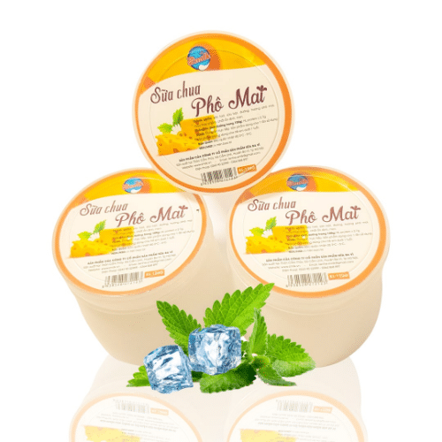 Sữa chua phô mai là dòng sản phẩm chủ lực của Công ty cổ phần sữa Ba Vì