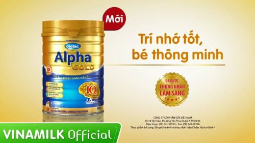 Sữa cho trẻ sơ sinh Dielac Alpha Gold