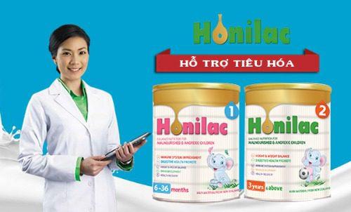 Sữa Honilac của Viện Dinh dưỡng