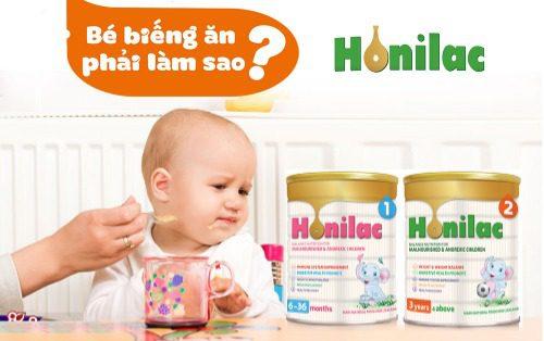 Sữa Honilac giúp đặc trị biếng ăn