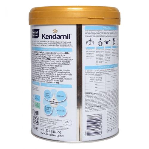 Sữa Kendamil là dòng sữa nguyên kem cao cấp đến từ Anh quốc