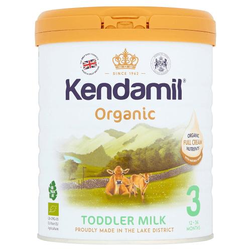 Sữa Kendamil organic có thành phần từ thiên nhiên tốt cho hệ miễn dịch của trẻ