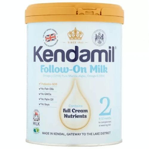 Sữa Kendamil số 2 dành cho trẻ từ 6 tháng đến 1 tuổi