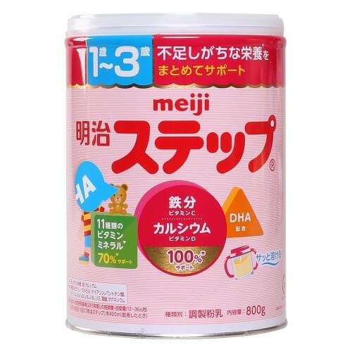 Sữa Meiji Nhật Bản cho bé 1 - 3 tuổi