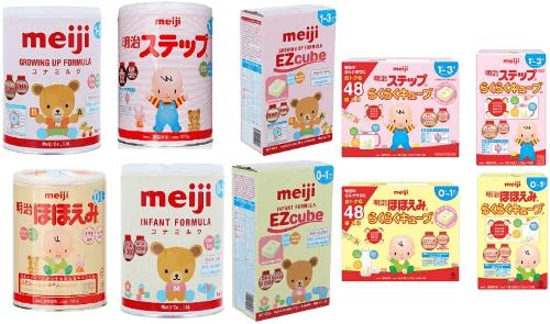 Sữa Meji nội địa Nhật rất được chào đón tại thị trường Việt Nam