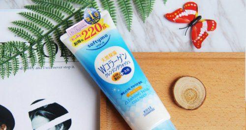 Sữa rửa mặt Kose Softymo Washing Foam Collagen của Nhật