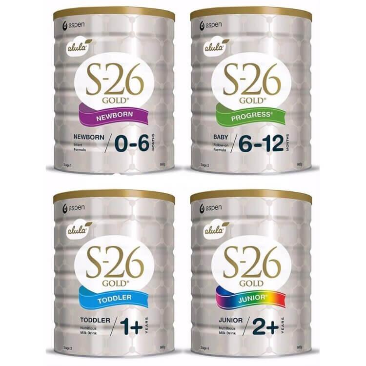 Sữa cho trẻ sơ sinh S26