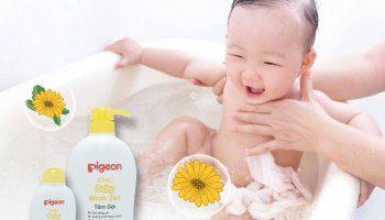 sữa tắm cho bé sơ sinh