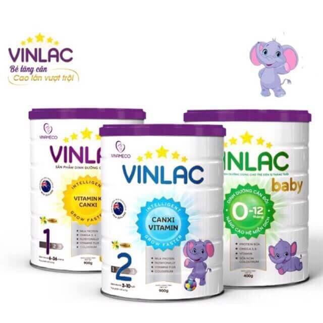 Các loại sữa Vinlac