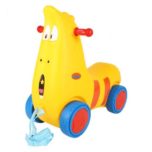 Xe chòi chân mô phỏng các nhân vật hoạt hình được các bé đặc biệt yêu thích