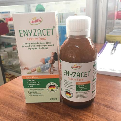 Canxi Enyzacet dạng nano cho bé hấp thụ canxi tốt nhất