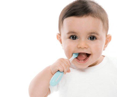 Bàn chải đánh răng cho trẻ 1 tuổi giúp trẻ sớm hình thành thói quen tự giác vệ sinh cá nhân