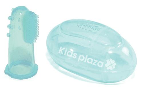 Bé 1 tuổi nên dùng bàn chải đánh răng xỏ ngón