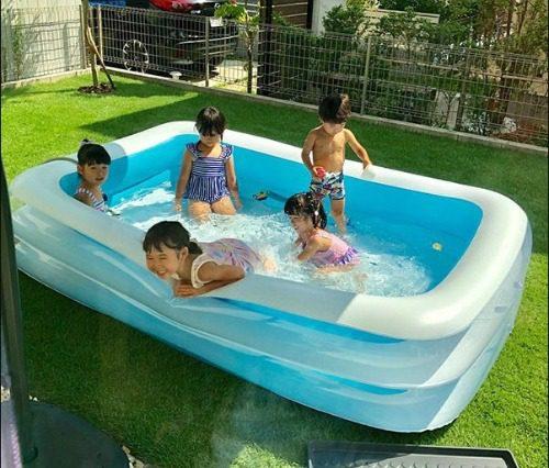 Mẫu bể bơi Summer Baby thường gặp nhất