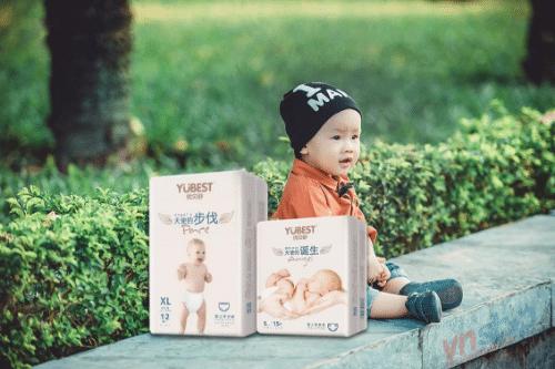 Bỉm Yubest được sản xuất tại Trung Quốc trên công nghệ đạt chuẩn châu Âu