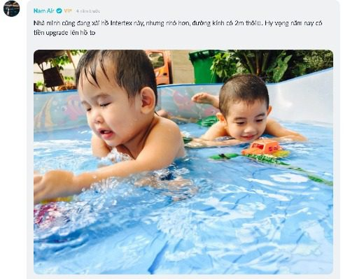 Đánh giá của người dùng bể bơi phao Intex trên diễn đàn Tinhte.vn