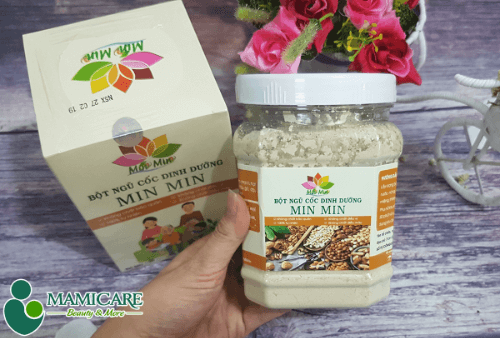Ngũ cốc thương hiệu Minmin cam kết sử dụng nguyên liệu nguồn gốc thiên nhiên