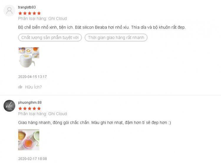 Sản phẩm nhận được rất nhiều phản hồi tích cực từ khách hàng
