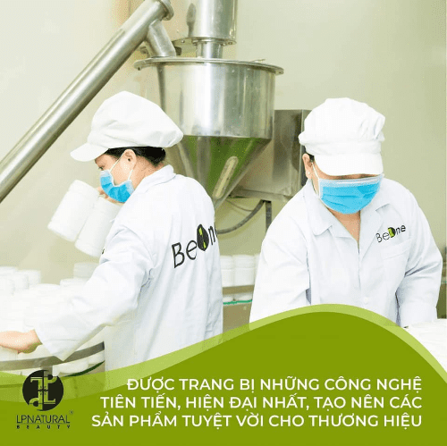 Ngũ cốc dinh dưỡng Beone được sản xuất trên dây chuyền công nghệ hiện đại