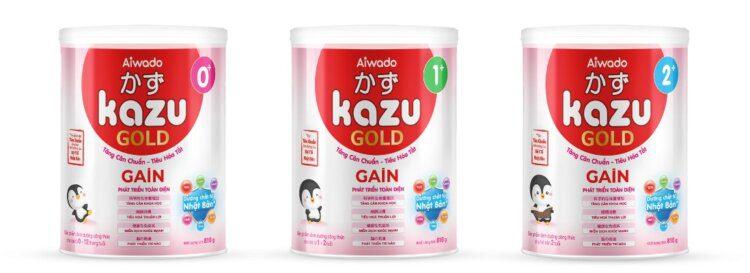 sữa Mát Tăng Cân Kazu Gain Gold 0+