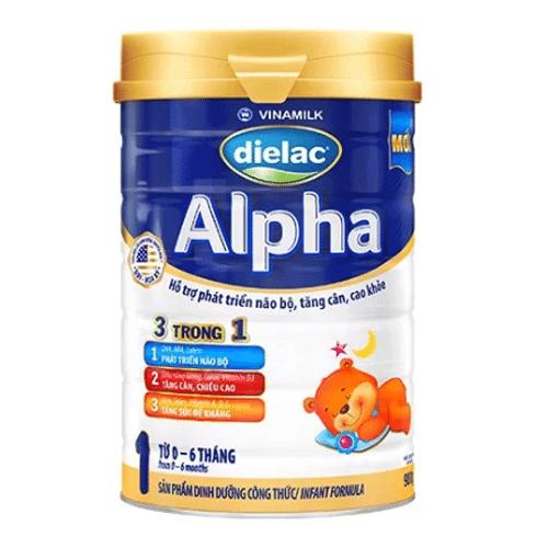 Sữa Dielac Alpha Step 1 giúp trẻ dưới 1 tuổi tăng cân đều và ổn định