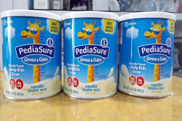 Pediasure là nhãn hiệu sữa của Abbott Hoa Kỳ