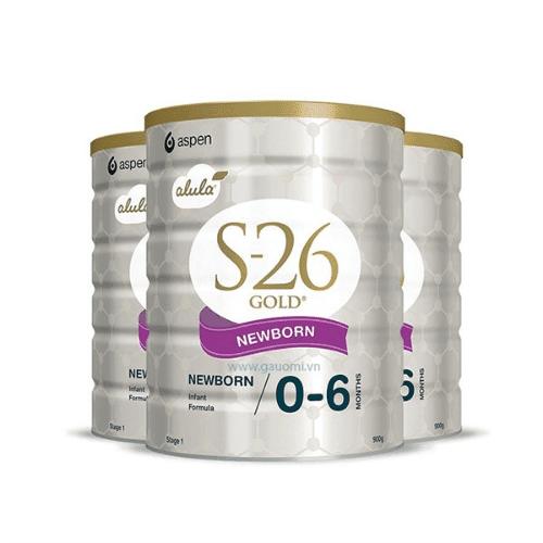 Sữa S26 của Úc giúp trẻ sơ sinh tăng cân nhanh và không gây táo bón