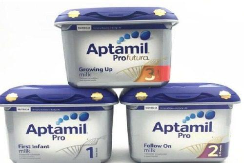 Aptamil Anh rất phổ biến