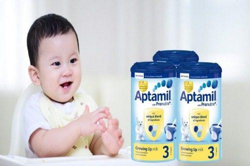 Aptamil có tăng cân tốt không?